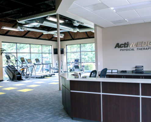 ActiveEDGE physical therapy reception desk