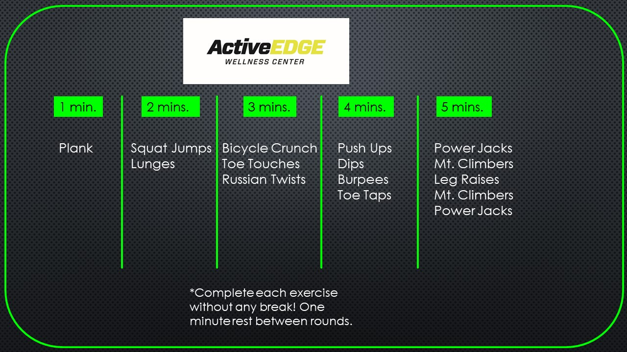 WORKOUTS ARCHIVE - EXCEL (challenging) - Physical Therapy